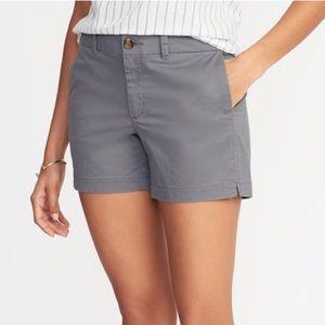 OLD NAVY Twill Everyday Chino Shorts Size 6